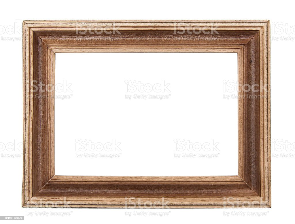 Wooden photo royalty-free stock photo