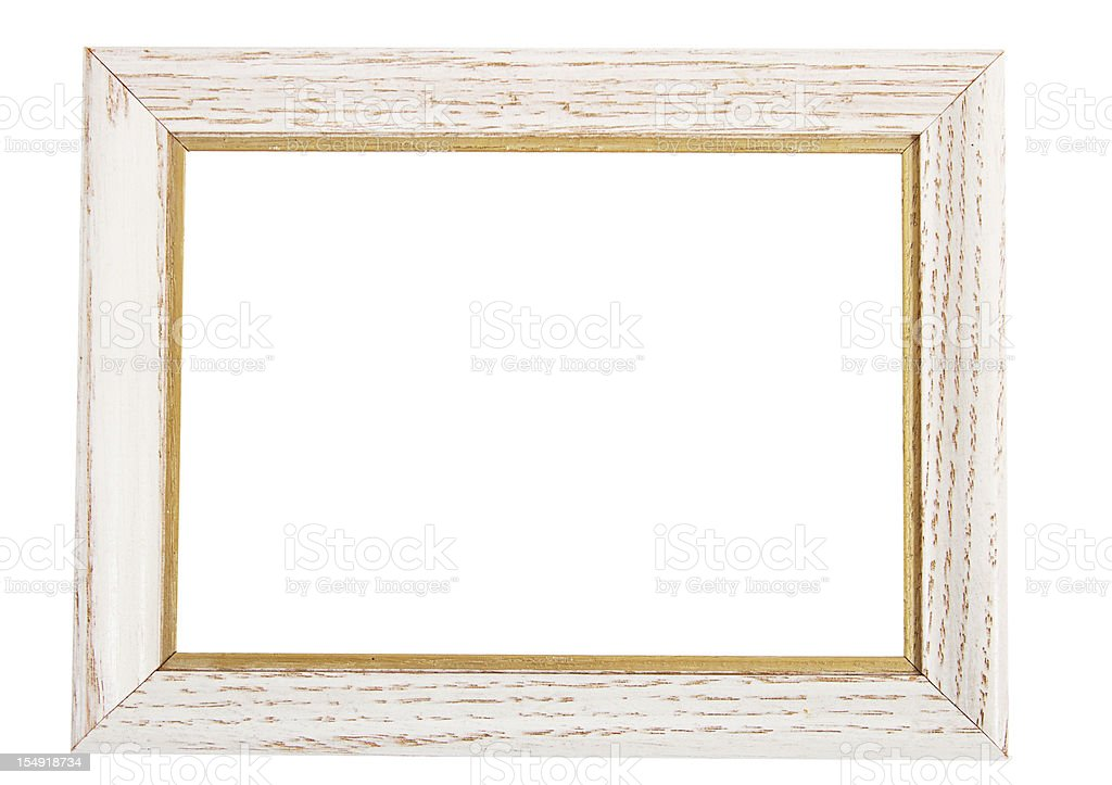 Wooden Picture Frame royalty-free stock photo