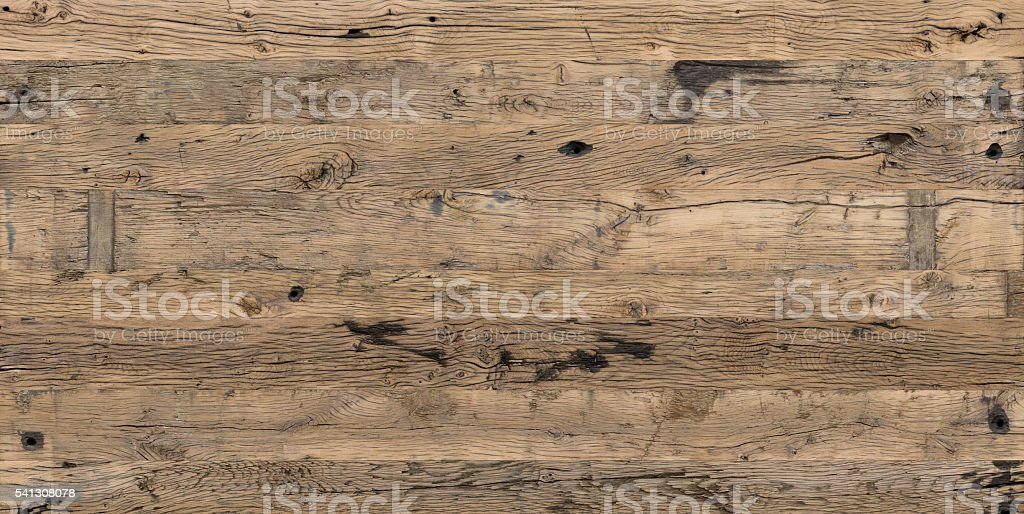 Wooden plank planed shelf train-wagon floor super big size stock photo