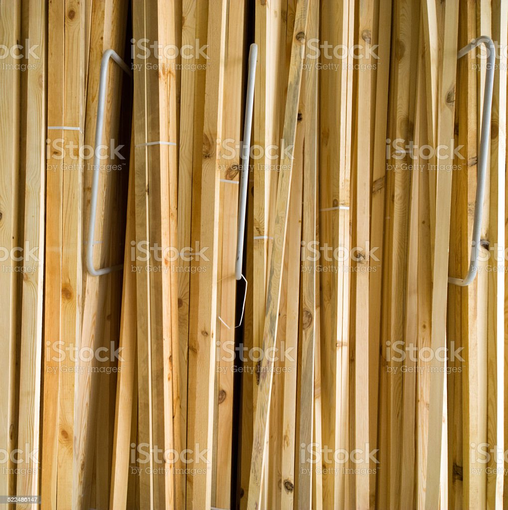 Wooden planks. stock photo