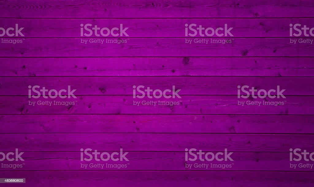 Wooden planks with purple color stock photo