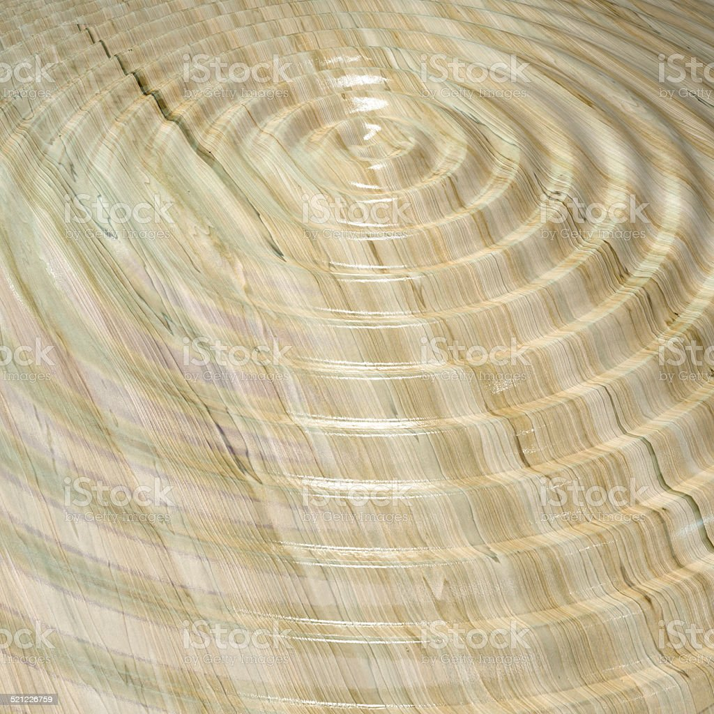wooden ripple stock photo