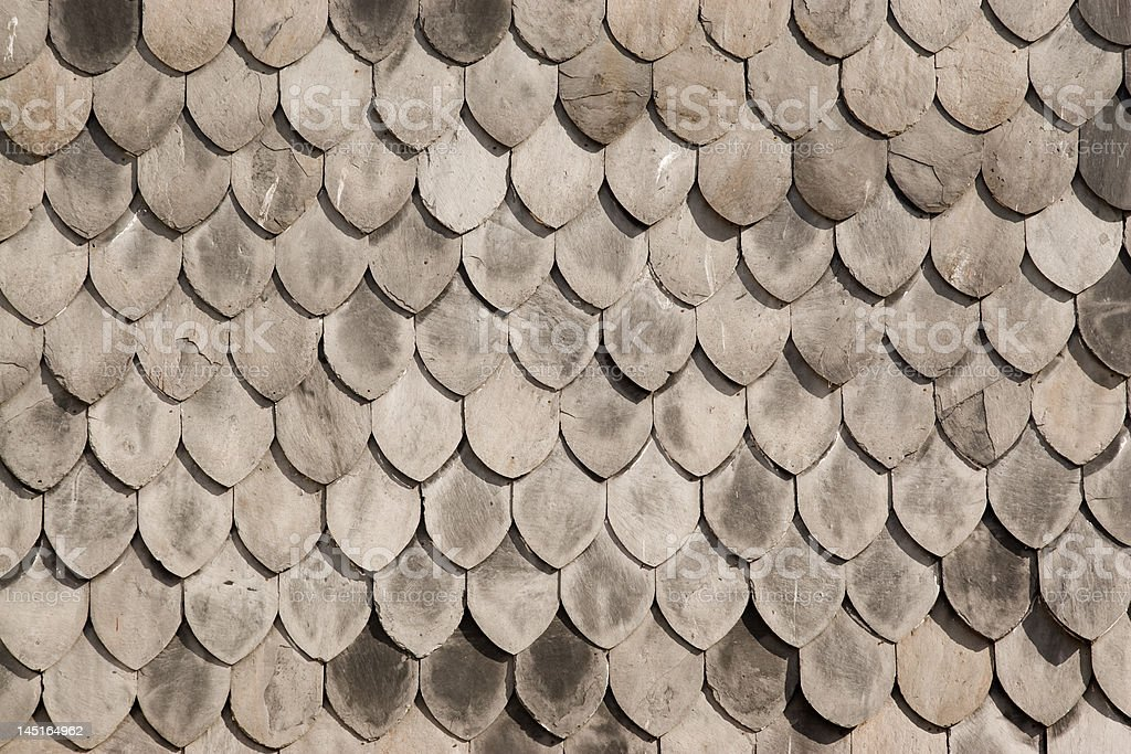 Wooden roof texture royalty-free stock photo