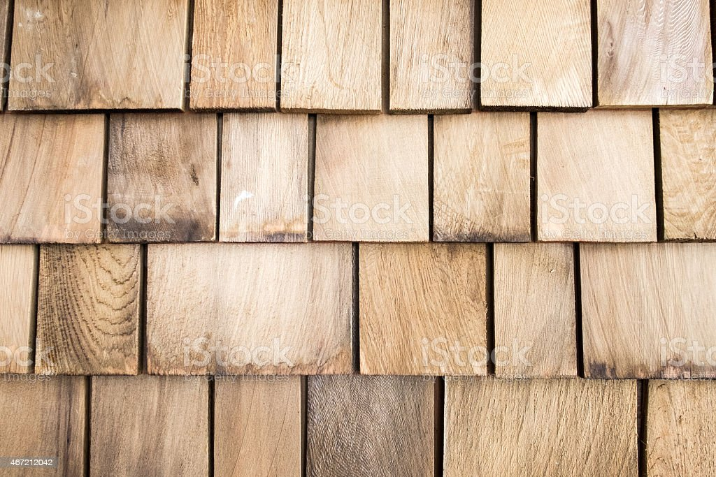 Wooden roof texture stock photo