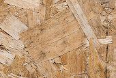 Wooden scraps close-up