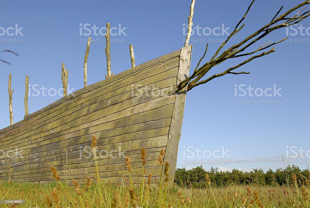 Wooden Ship royalty-free stock photo