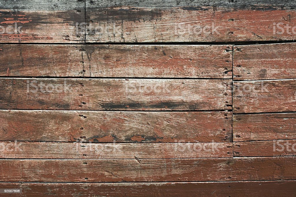 Wooden siding royalty-free stock photo