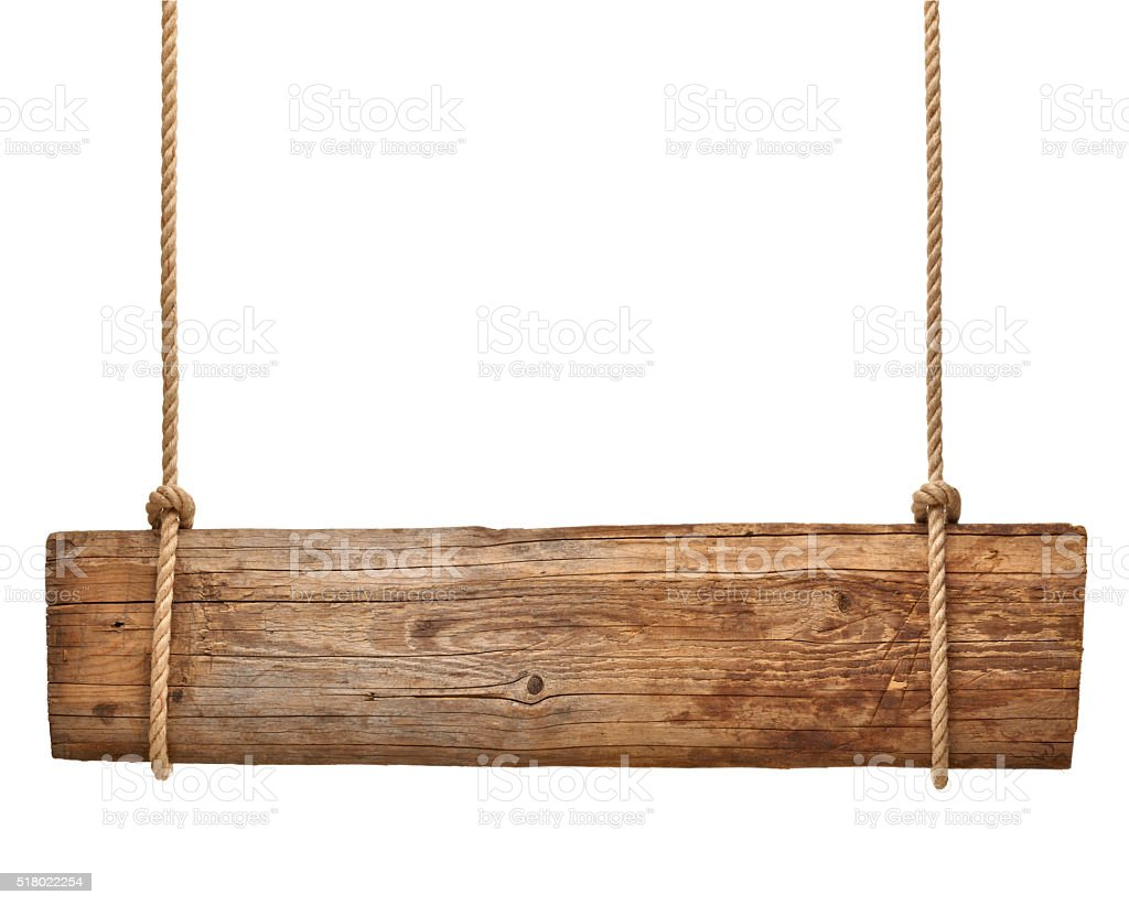 wooden sign background message rope chain hanging stock. Black Bedroom Furniture Sets. Home Design Ideas