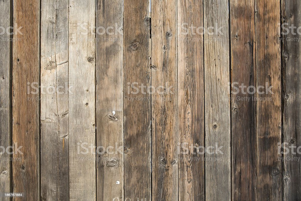Wooden Slat Wall stock photo