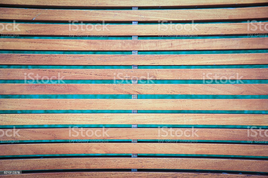 Wooden slats background stock photo
