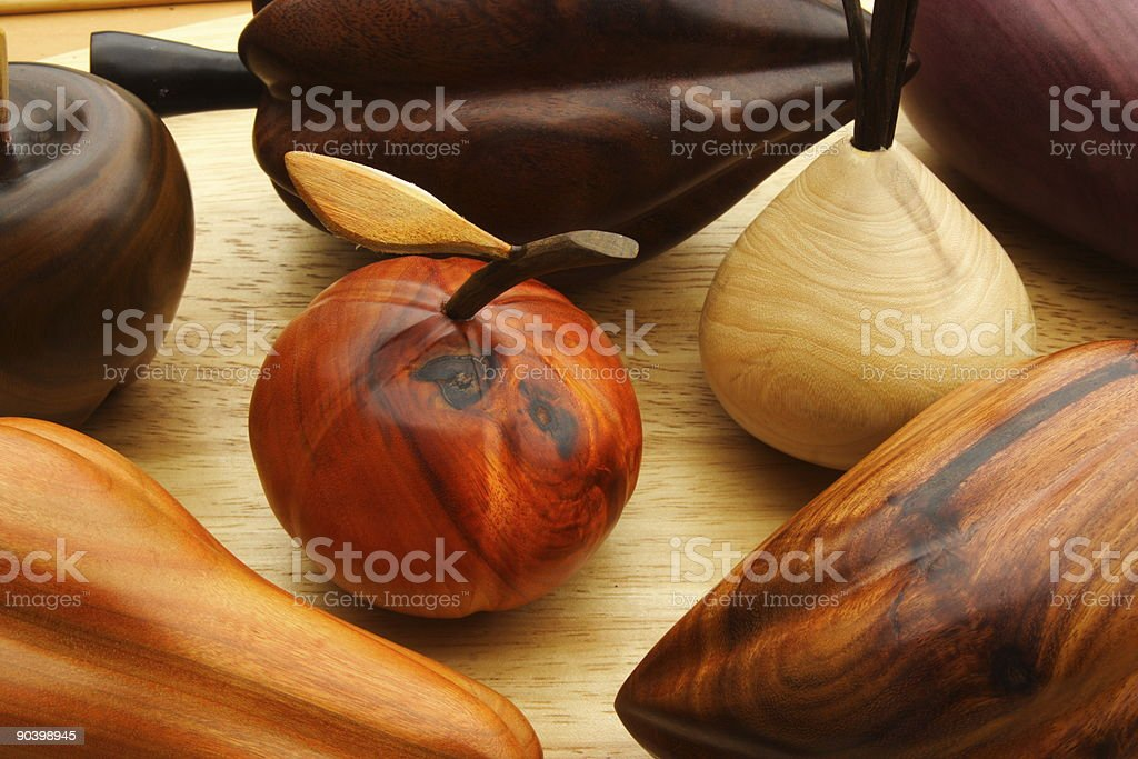 Wooden Still Life royalty-free stock photo