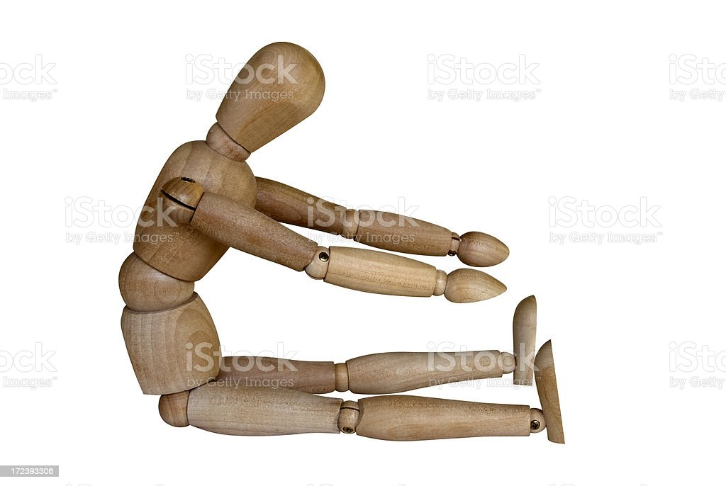 Wooden Stretcher royalty-free stock photo
