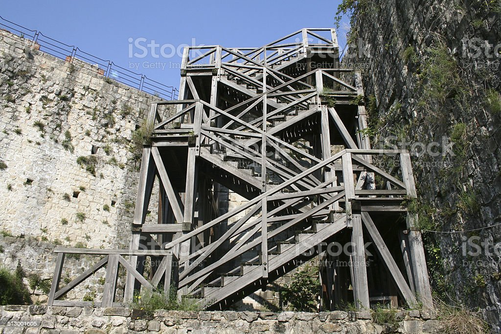struttura legno stock photo