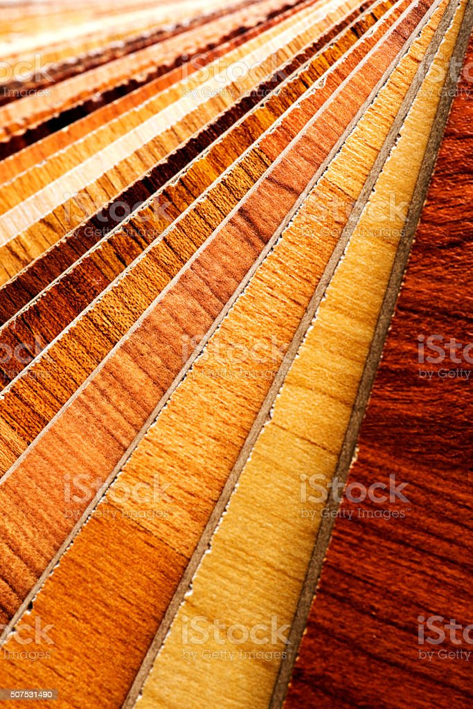 Wooden Swatch Laminate stock photo