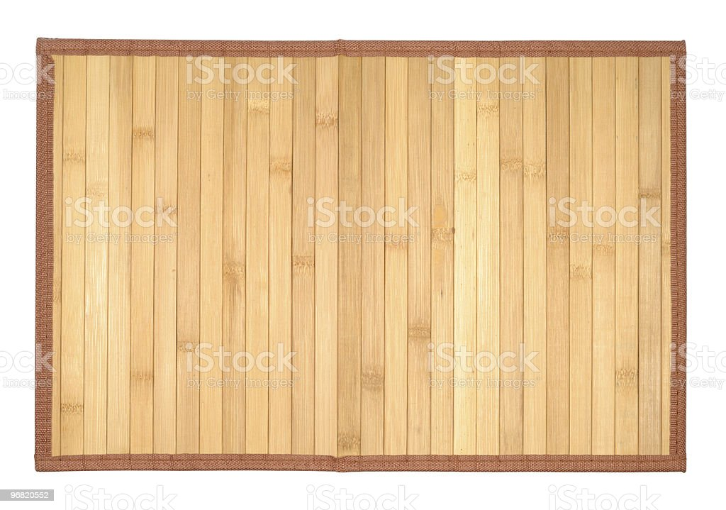 Wooden Table-cloth stock photo
