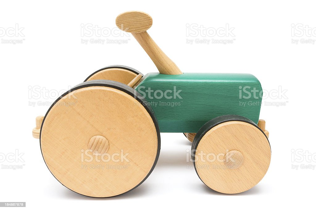 Wooden Toy Vehicle royalty-free stock photo
