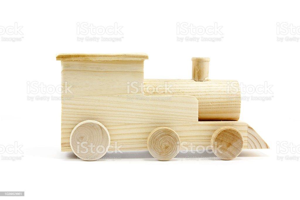 Holz-Zug Lizenzfreies stock-foto