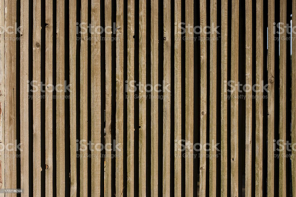wooden vertical slats background stock photo