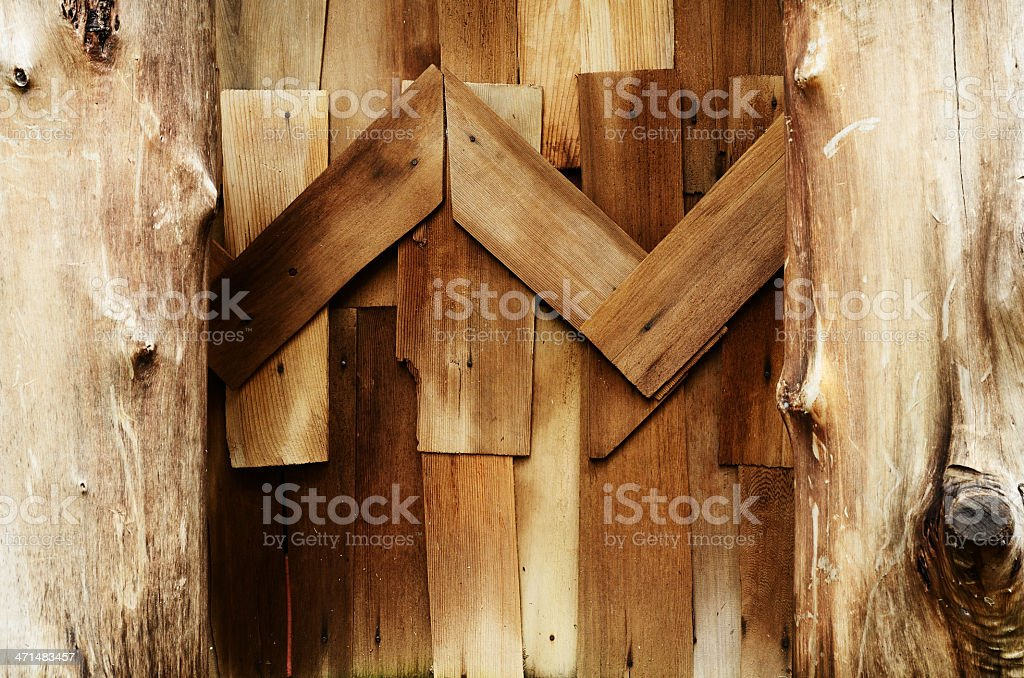 Wooden wall background texture royalty-free stock photo