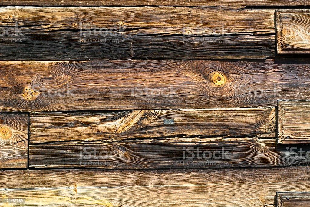 Pared de madera foto de stock libre de derechos