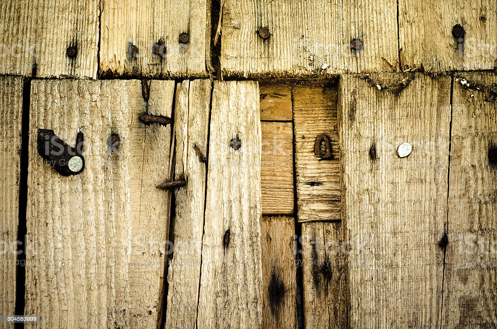 wooden wall royalty-free stock photo