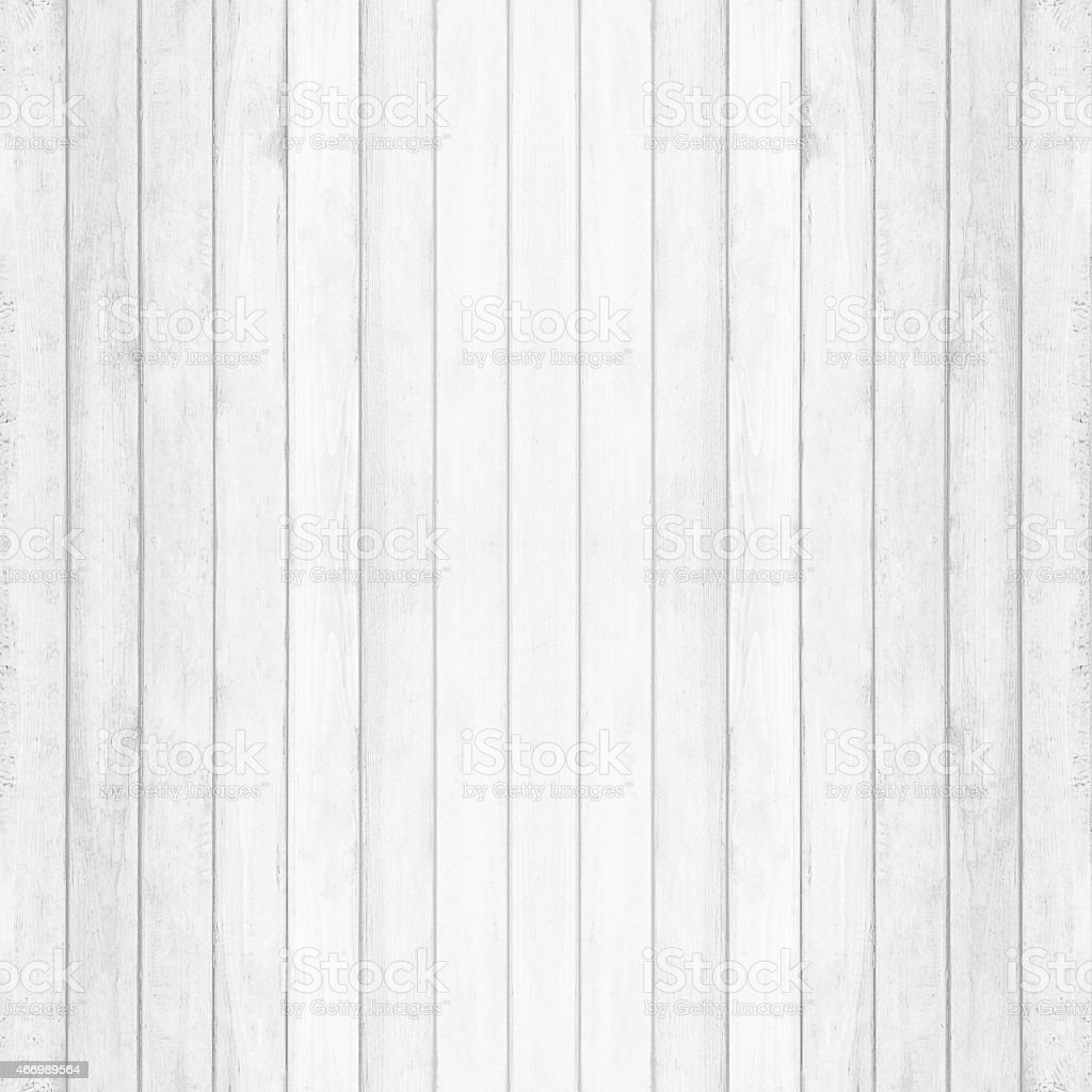 Wooden wall texture background, gray-white vintage color stock photo