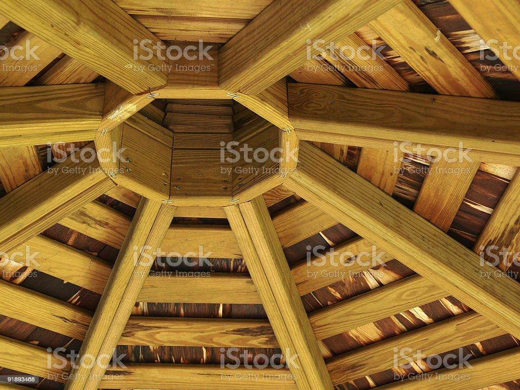 Web de madeira foto royalty-free
