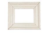 Wooden white frame