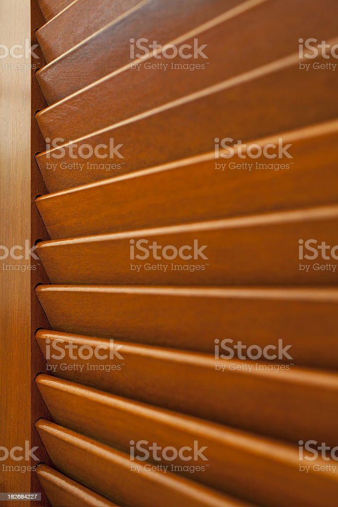 Wooden window royalty-free stock photo