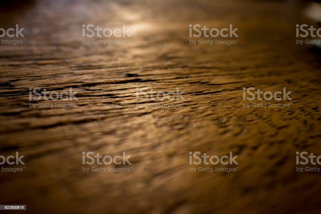 WoodGrain / Dark Wood / Table Top stock photo