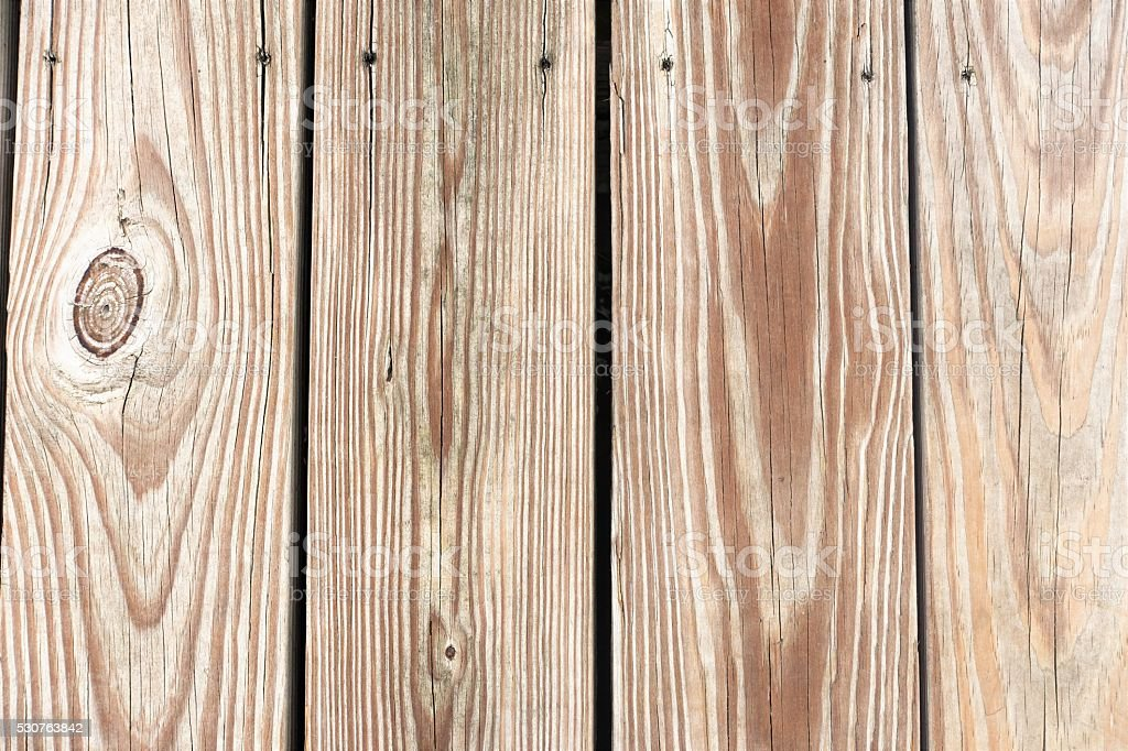 Woodgrain on wood plank background stock photo