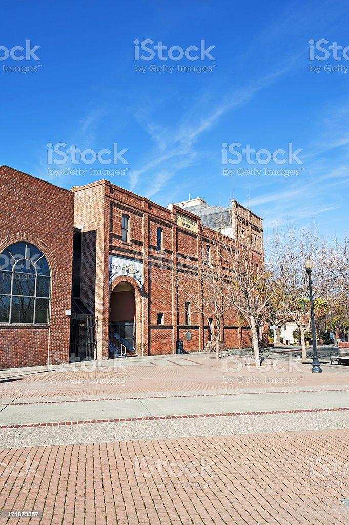 Woodland Opera House royalty-free stock photo