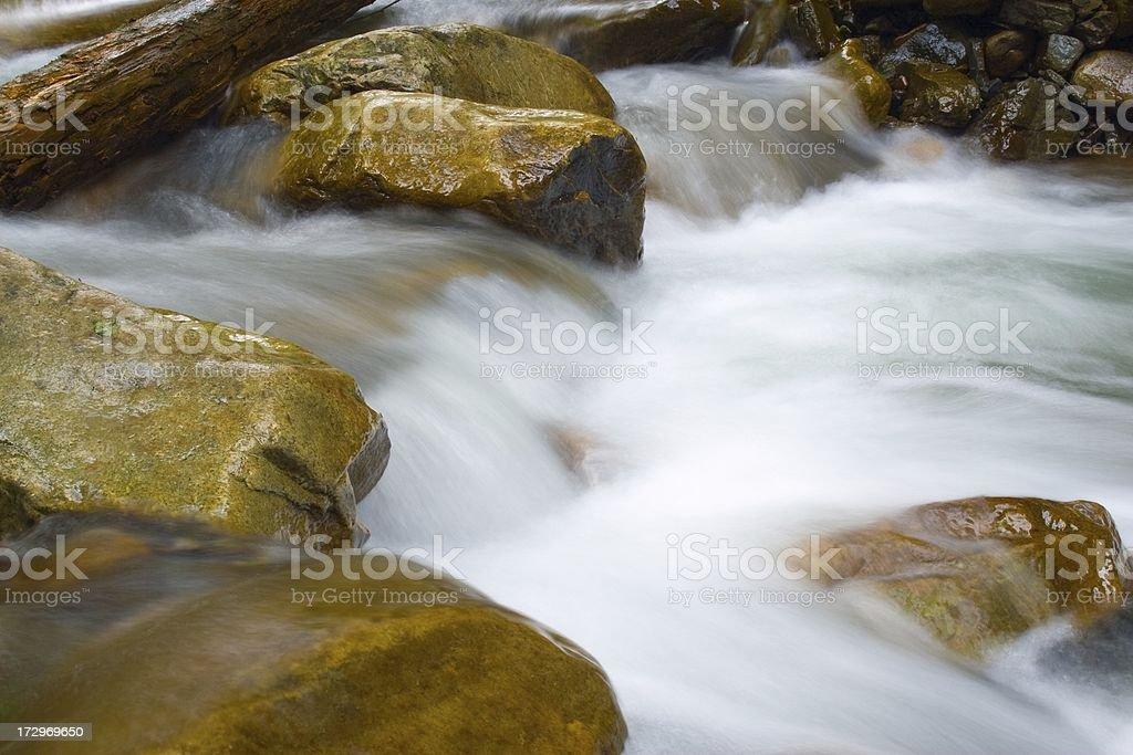 .Woodland stream royalty-free stock photo