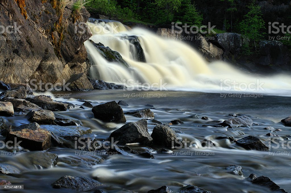 Woods Falls royalty-free stock photo