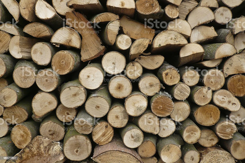 Woodstack No. One royalty-free stock photo