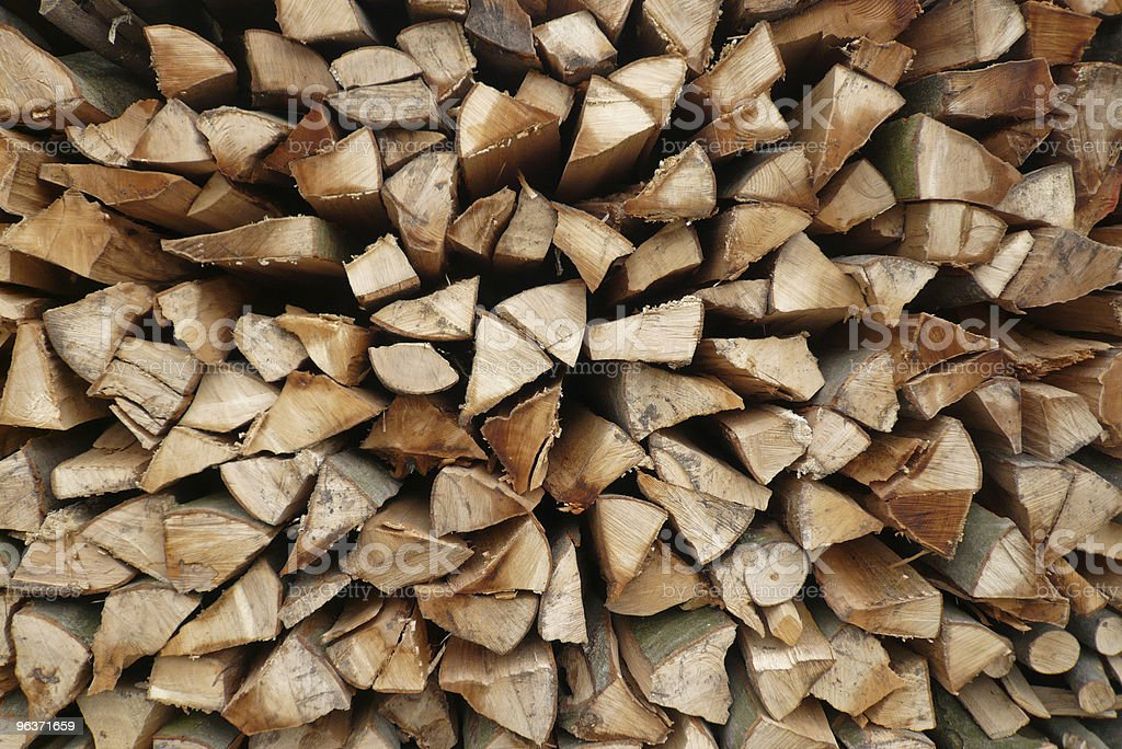 Woodstack No. Two royalty-free stock photo