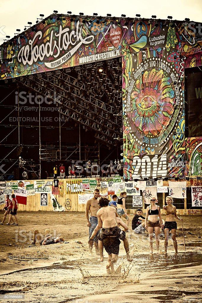 Woodstock Festival 2014, Poland stock photo