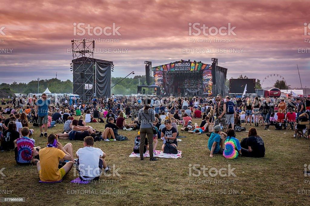 Woodstock Festival 2016, Poland stock photo