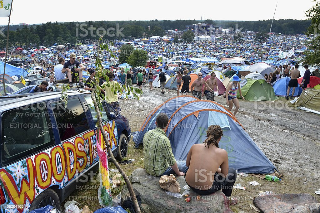 Woodstock royalty-free stock photo