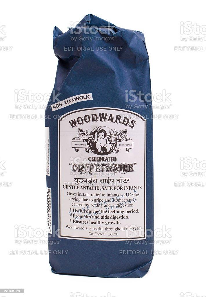Woodwards Gripe Water stock photo