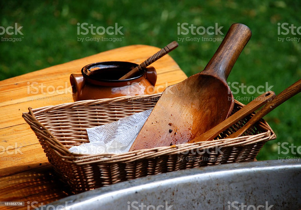 Woodwork royalty-free stock photo