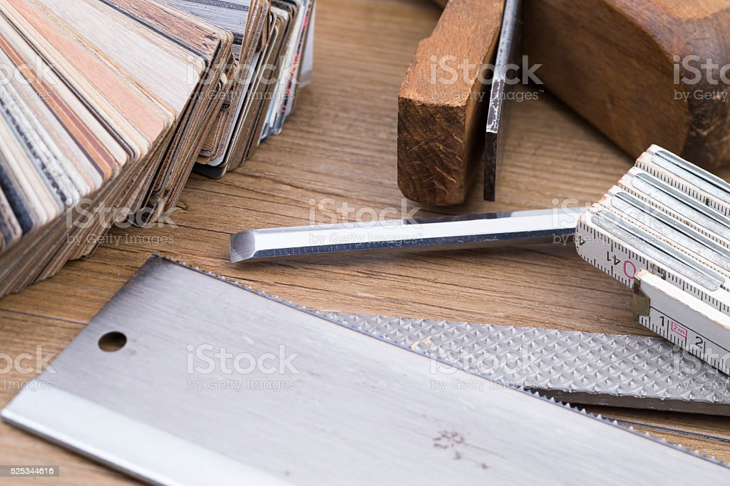 Woodwork stock photo