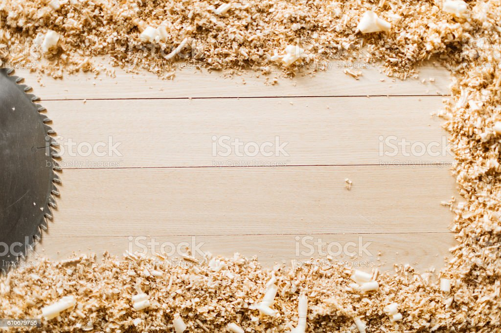 Woodwork stock photo