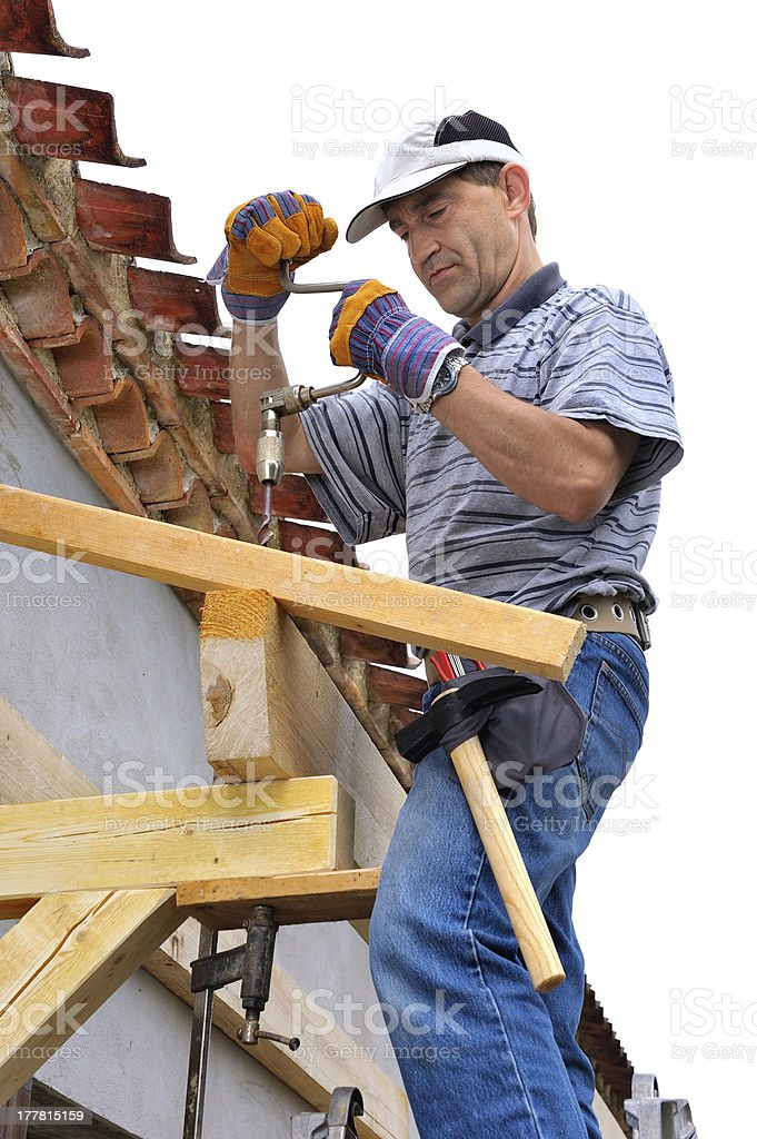 woodworking carpenter royalty-free stock photo