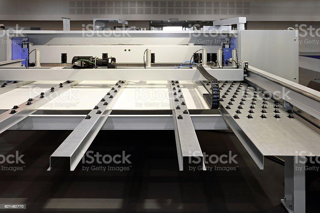 Woodworking Machine stock photo