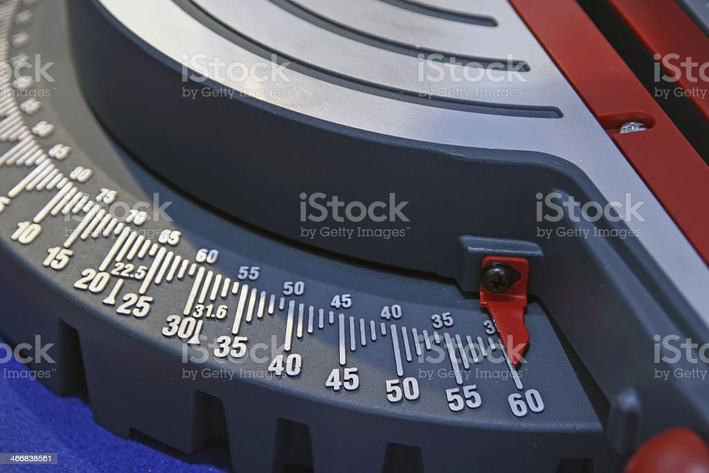 Woodworking tool stock photo