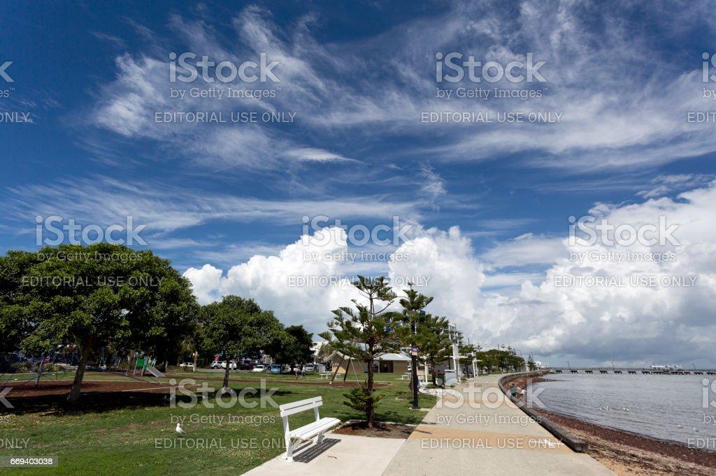Woody Point Park stock photo