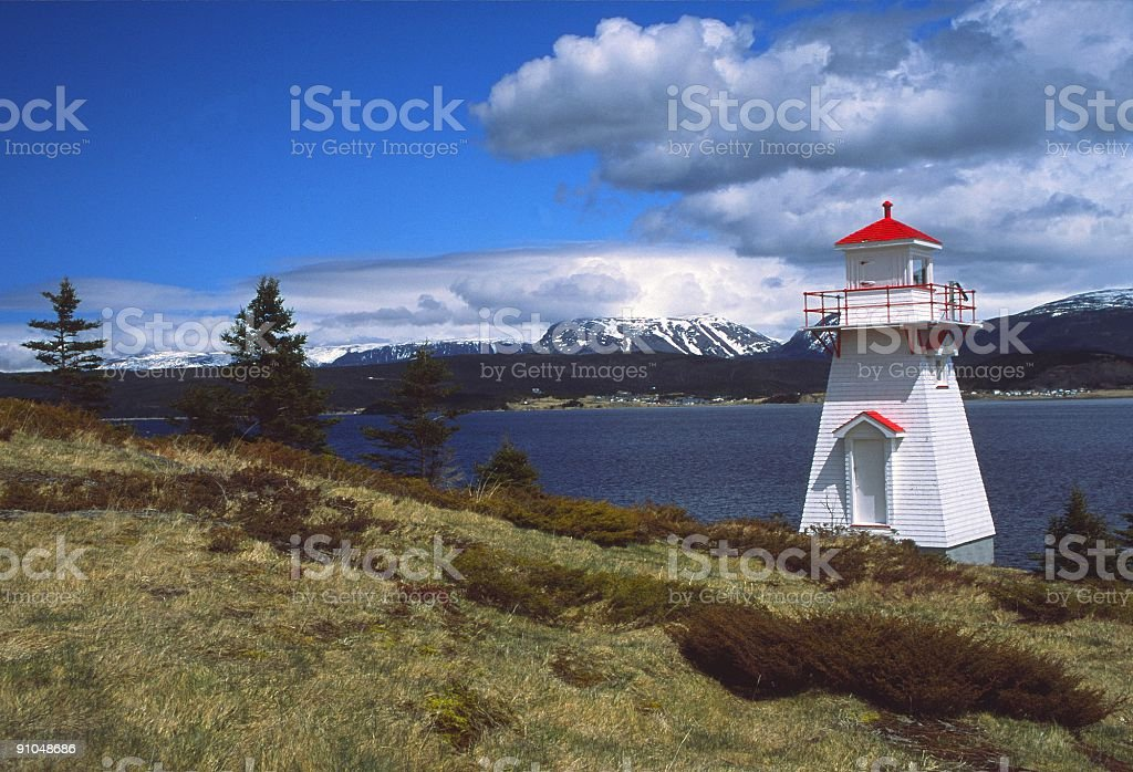 Woody Point stock photo