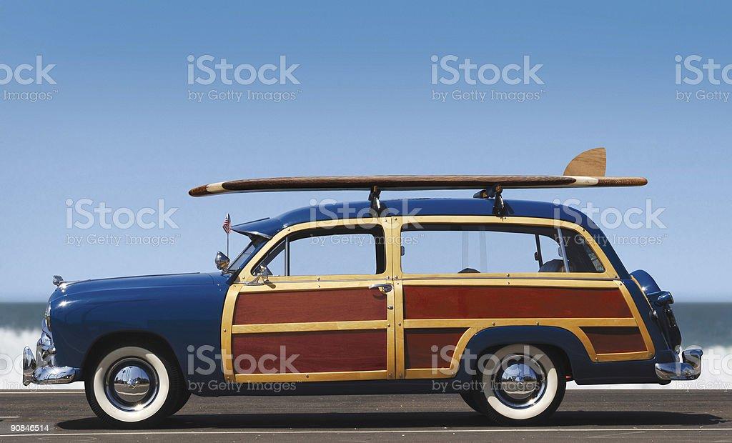 woody-profile royalty-free stock photo