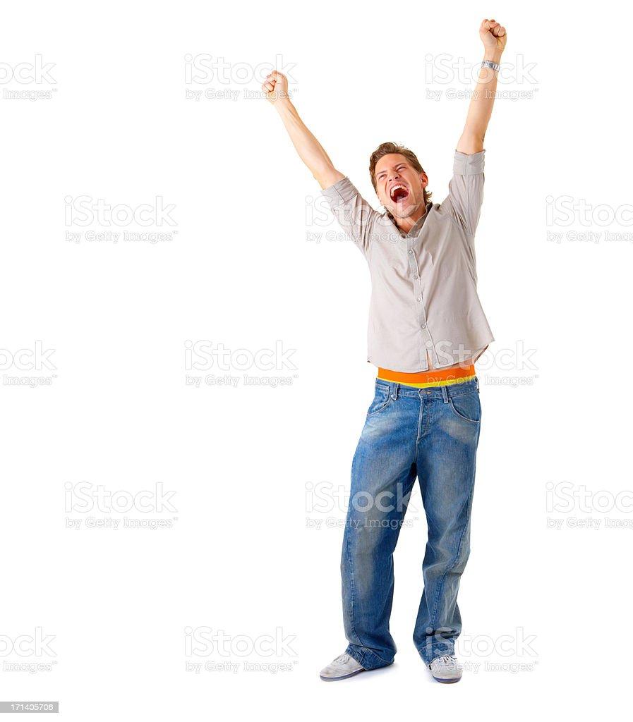 WooHoo!!! I won! royalty-free stock photo